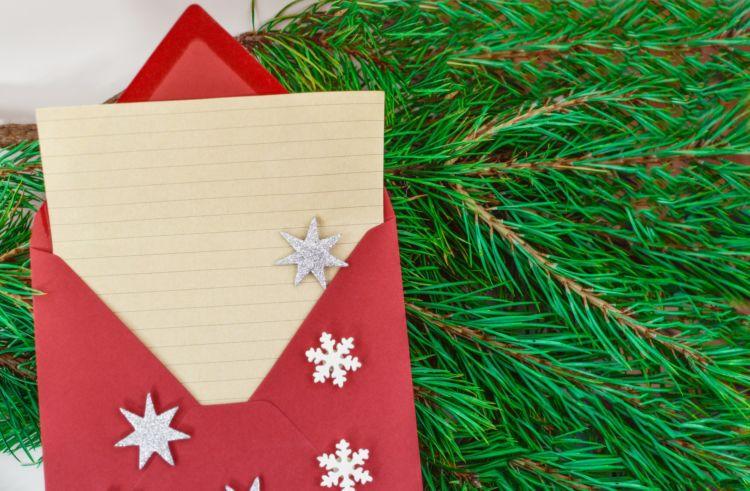 χριστουγεννιάτικες οικογενειακές παραδόσεις , γράμμα
