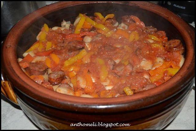 Ιδέες για νηστίσιμες συνταγές (σαρακοστιανά)- φασόλια φούρνου