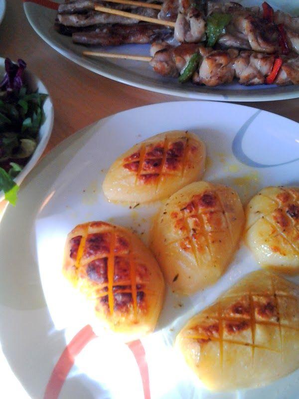 Ιδέες για νηστίσιμες συνταγές (σαρακοστιανά)-πατάτες στον φούρνο αλλιώς