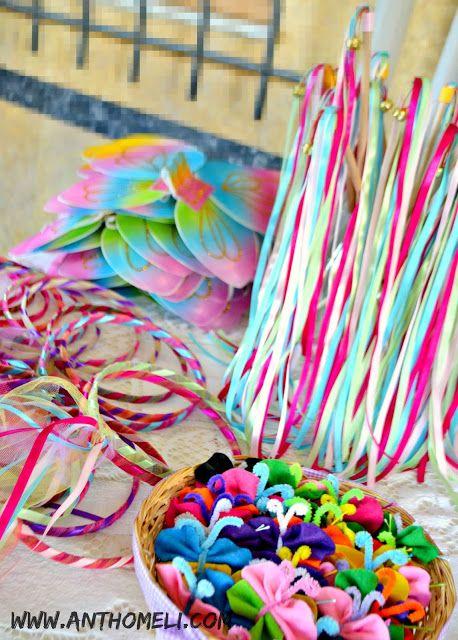νεραϊδένια στεφανάκια για παιδικό πάρτυ και πως να τα φτιάξετε