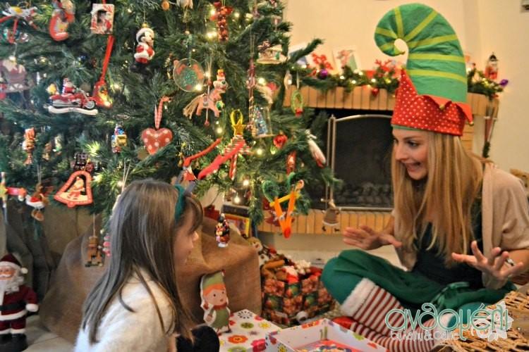 χριστουγεννιάτικες οικογενειακές παραδόσεις , ξωτικό