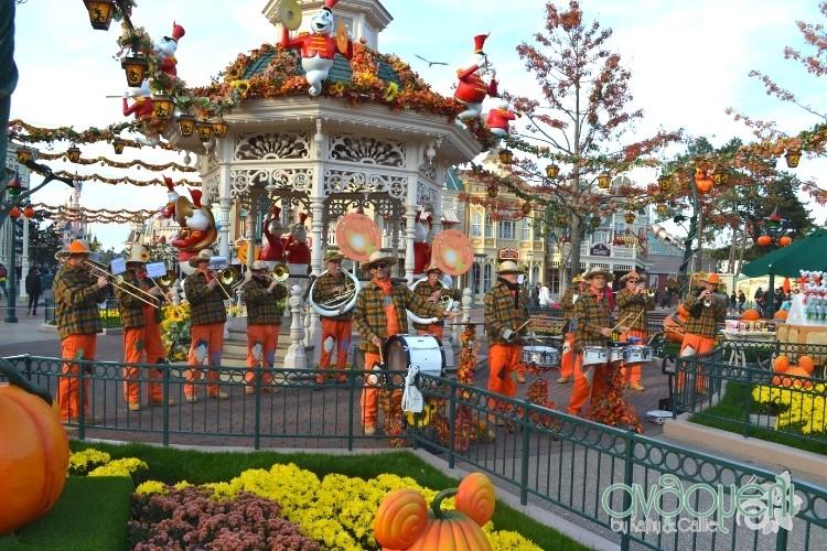 Ορχήστρα στην Disneyland Paris