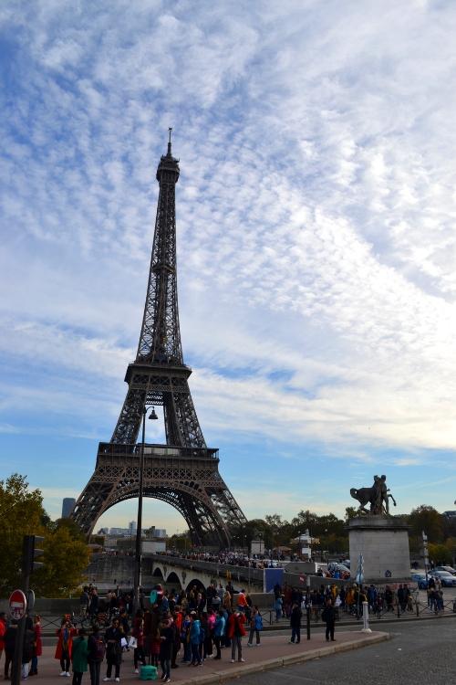 O Πύργος του Άιφελ στο Παρίσι