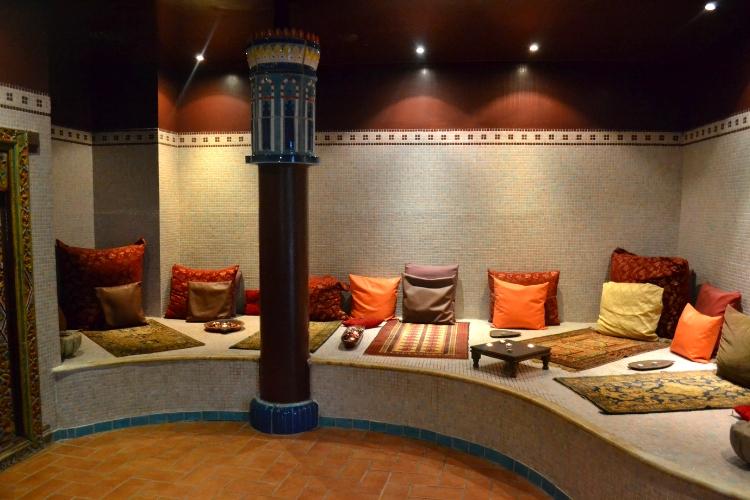 Χώρος Spa στο Thermae Sylla