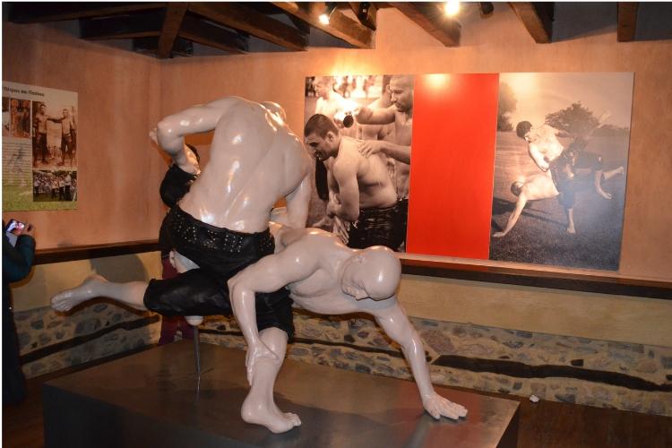 Τοπικό Μουσείο Σοχού_Πάλη με κιουσπέτια.