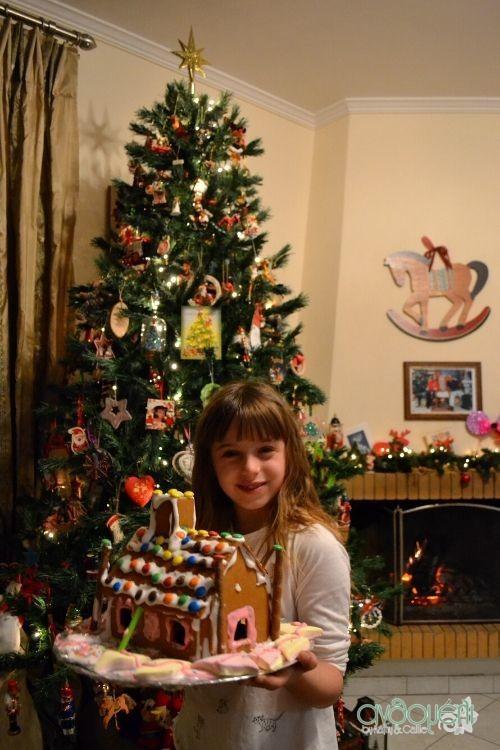 χριστουγεννιάτικες οικογενειακές παραδόσεις , gingerbread house