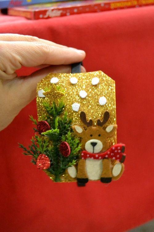 Ιδέες για do it your self χριστουγεννιάτικες στέκες