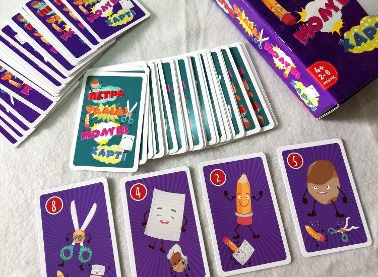 Επιτραπέζια παιχνίδια Remoundo_πέτρα ψαλίδι μόλύβι χαρτί