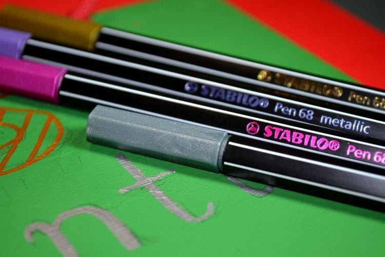 Χριστουγεννιάτικη κατασκευή με STABILO Pen 68 metallic