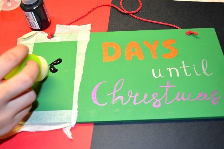 Ξύλινες πινακίδες για τα Χριστούγεννα