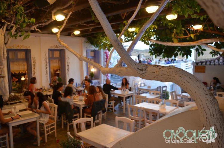 """Κύθνος, Χώρα (Μεσσαριά), Εστιατόριο """"Το στέκι του Ντέτζη"""""""
