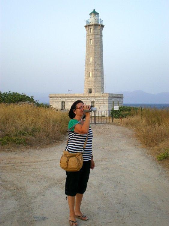Ταξίδι στην Πελοπόννησο-νησί Κρανάη (Φάρος της Κρανάης)