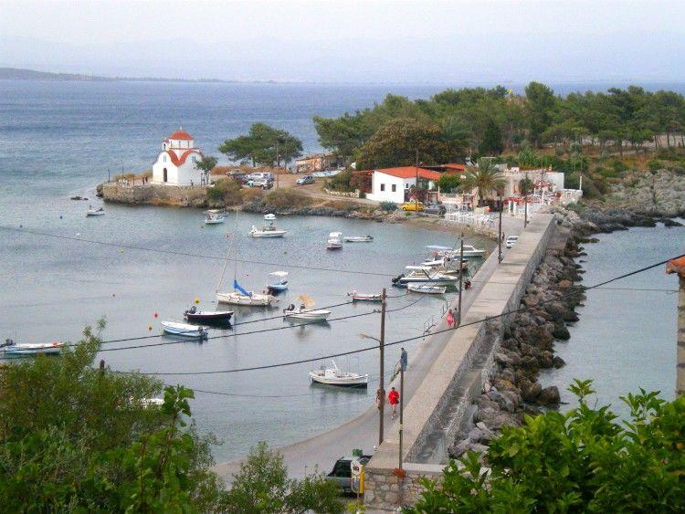 Ταξίδι στην Πελοπόννησο-Γύθειο, Μαραθονήσι ή νησί Κρανάη