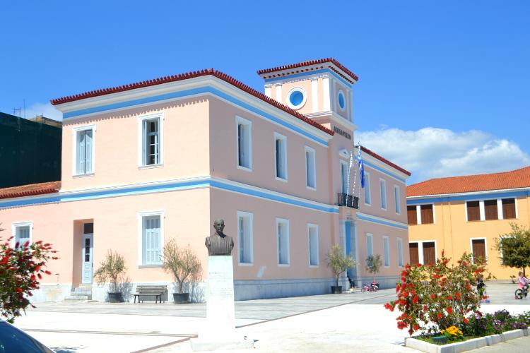 Ταξίδι στην Πελοπόννησο-Γύθειο δημαρχείο