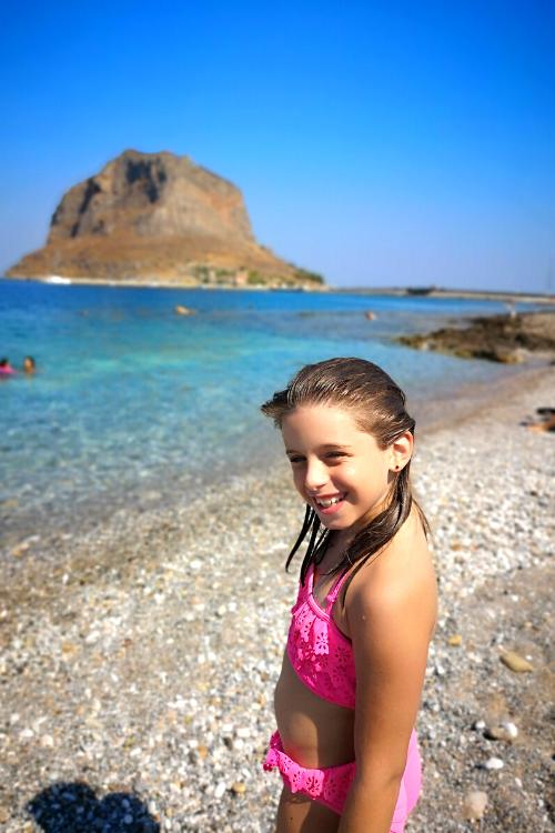Οικογενειακές διακοπές στην Μονεμβασιά - παραλίες