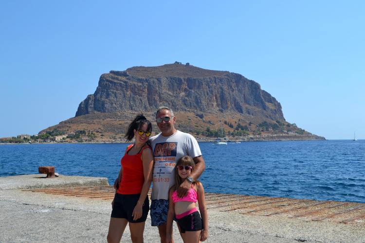 Οικογενειακές διακοπές στην Μονεμβασιά