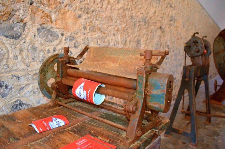 """Βιομηχανικό Μουσείο Ντομάτας """"Δ. Νομικός"""""""