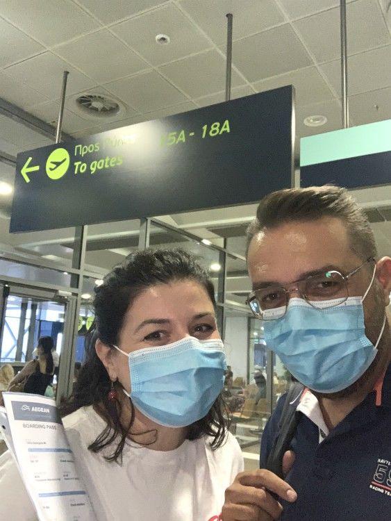 Aεροδρομιο Μακεδονία_πτήσεις Σαντορίνη