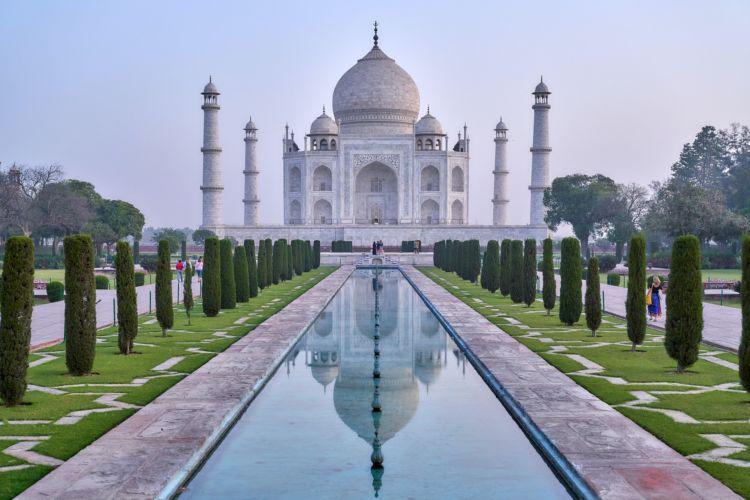 Ταζ Μαχάλ, Ινδία, ένα από τα 7 νέα θαύματα του κόσμου