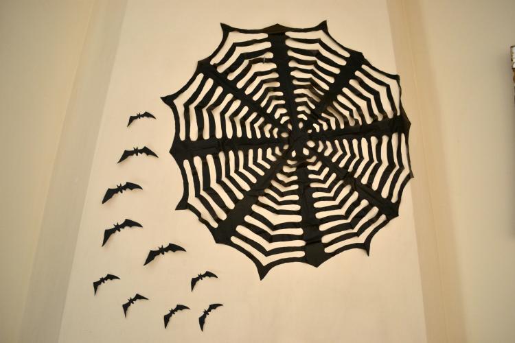 Halloween πάρτυ, το ντεκόρ