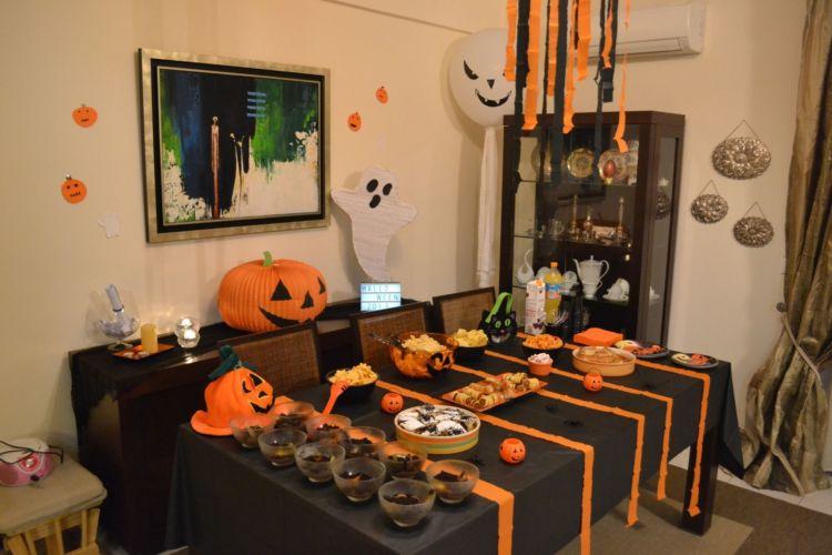 Halloween πάρτυ, ο μπουφές
