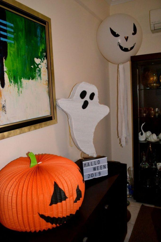 Halloween πάρτυ, η πινιάτα