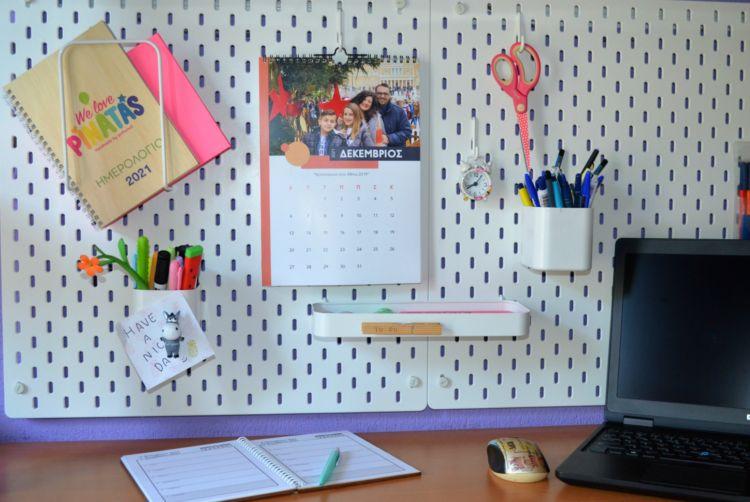 30 ιδέες για την καθημερινότητα όλης της οικογένειας_ένα πάνελ οργάνωσης για το γραφείο