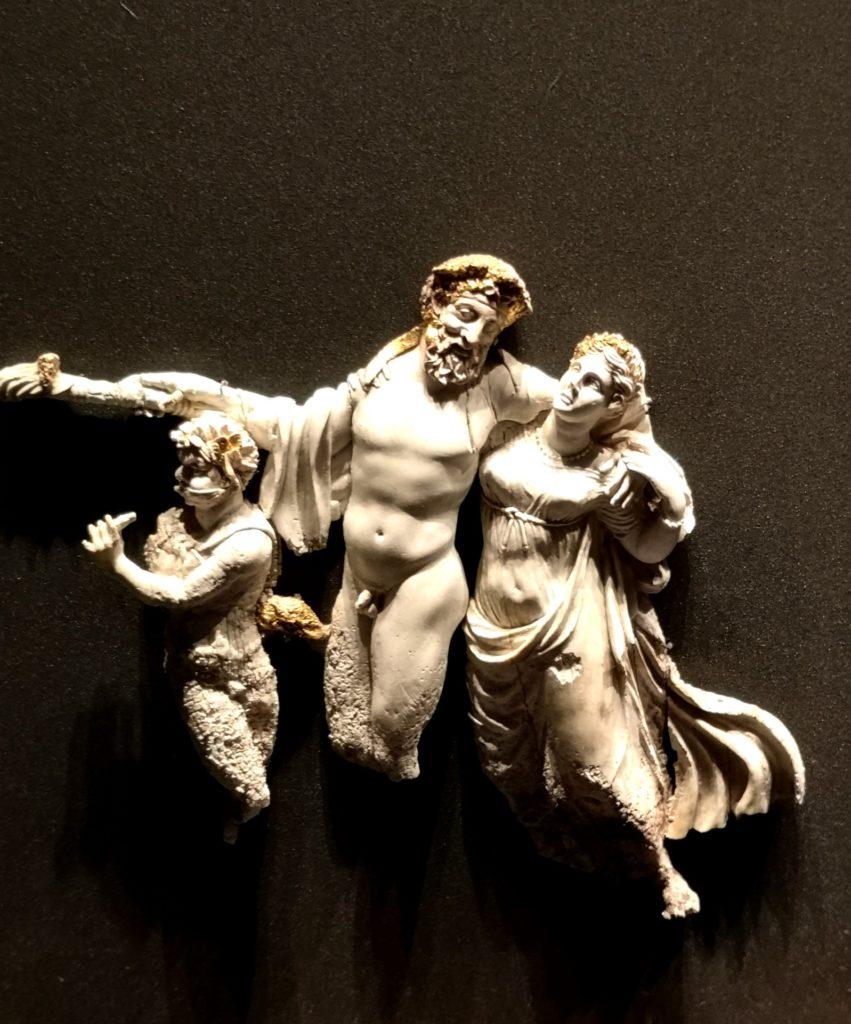 Στο Μουσείο των Βασιλικών Τάφων της Βεργίνας