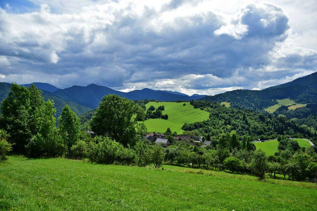 εθνικό πάρκο της οροσειρά Velka Fatra στη Σλοβακία