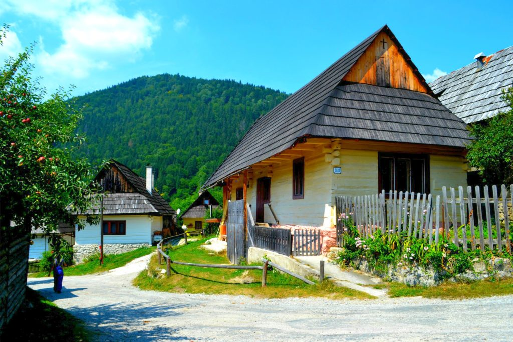 Σλοβακία Βλκόλινετς (Vlkolinec), ένα χωριό υπαίθριο μουσείο