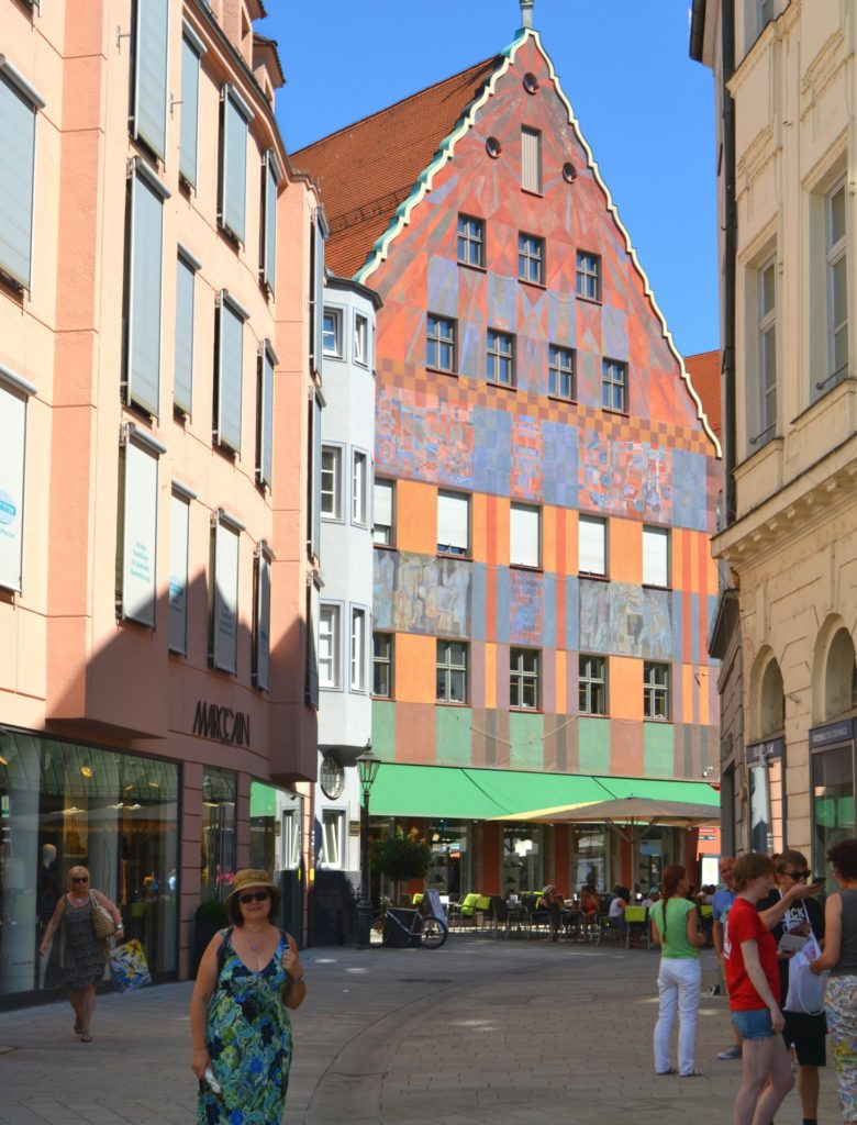 Augsburg, η αυτοκρατορική πόλη στον ρομαντικό δρόμο της Γερμανίας. Το Weberhaus στο Augsburg
