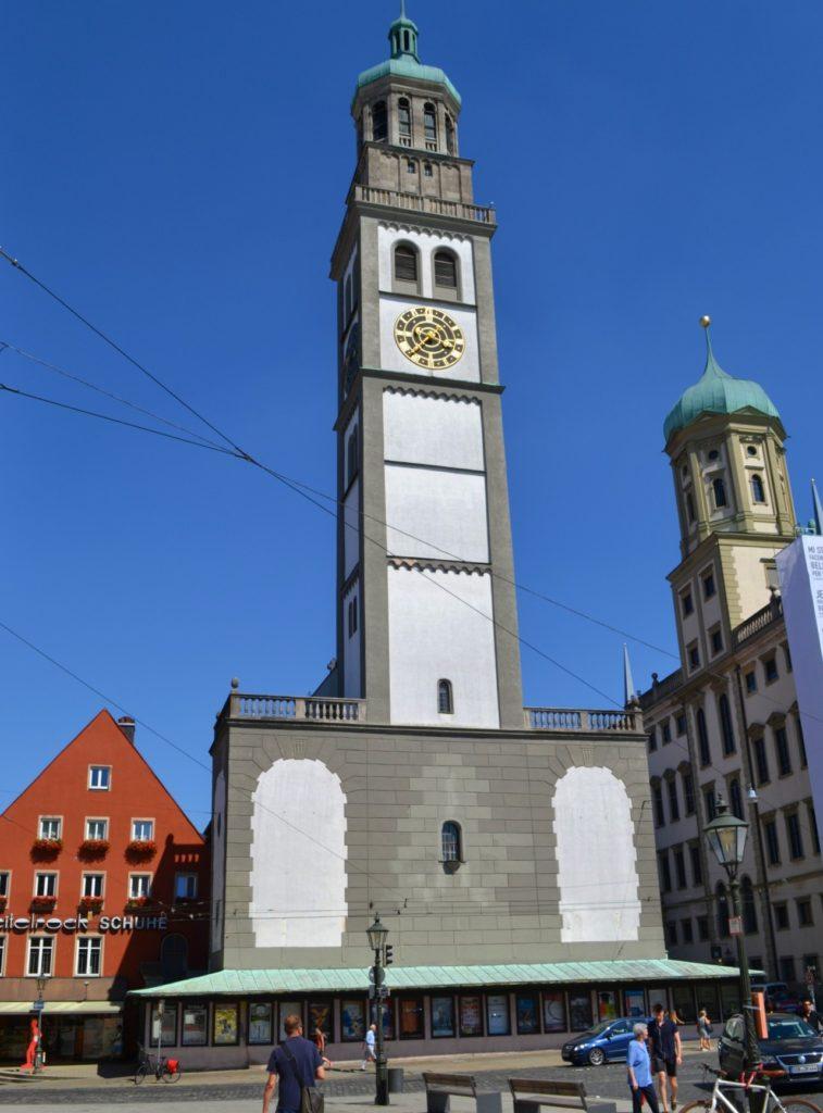 Augsburg, η αυτοκρατορική πόλη στον ρομαντικό δρόμο της Γερμανίας. Ο πύργος Perlach.