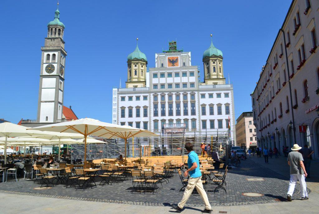Augsburg, η αυτοκρατορική πόλη στον ρομαντικό δρόμο της Γερμανίας. Το Δημαρχείο του Augsburg