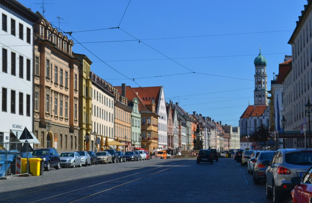 Augsburg, η αυτοκρατορική πόλη στον ρομαντικό δρόμο της Γερμανίας. Η Maximilian Strasse