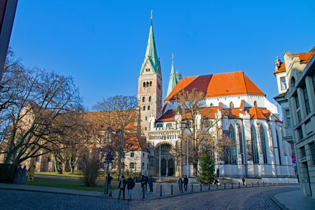 Augsburg, η αυτοκρατορική πόλη στον ρομαντικό δρόμο της Γερμανίας. Ο καθεδρικός της Αγίας Μαρίας.