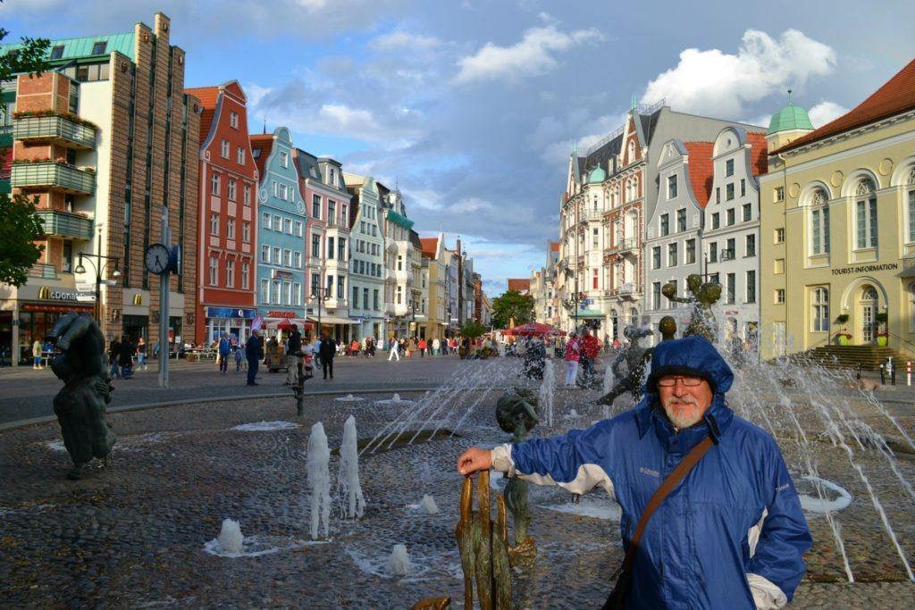 Η προετοιμασία ενός οδικού ταξιδιού στην Ευρώπη. Rostock