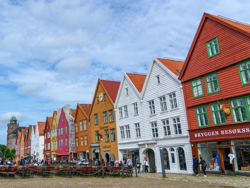 Tαξίδι στο Μπέργκεν, στους καταρράκτες και στα φιορδ της Νορβηγίας. Αξιοθέατα στην πόλη Μπέργκεν. Υπαίθρια ψαραγορά, Fish Market