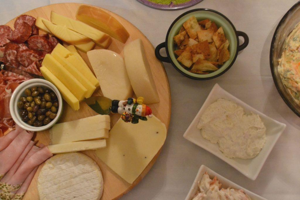 Το πρωτοχρονιάτικο τραπέζι του Ανθομέλι