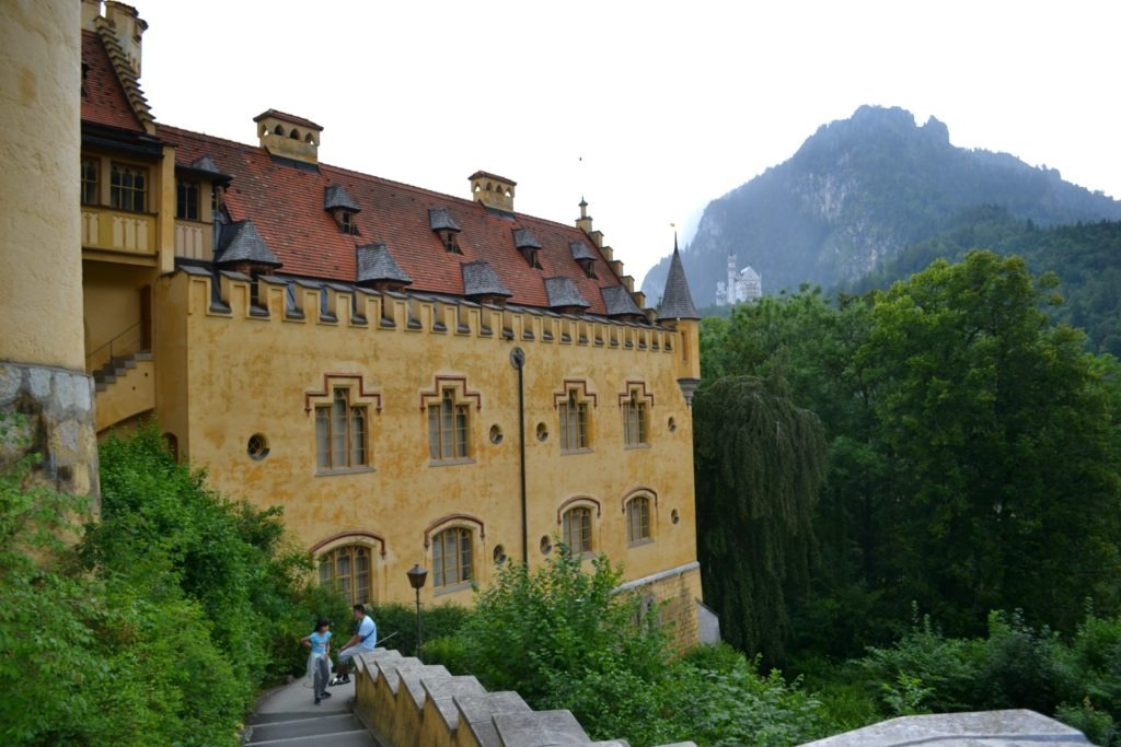 To κάστρο Hohenschwangau στη Γερμανία