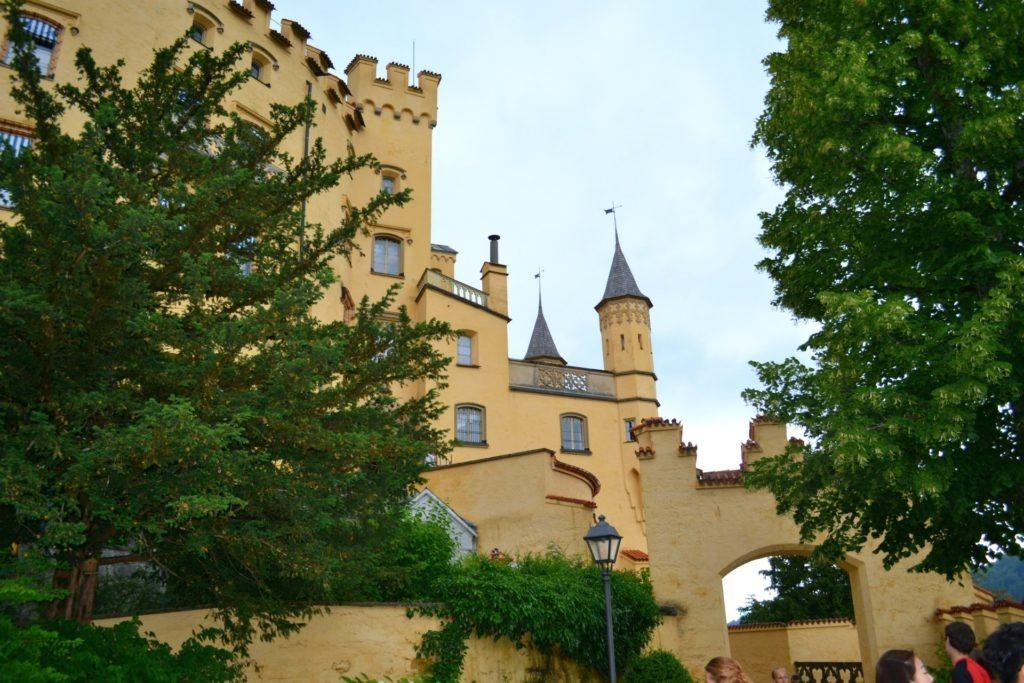 Το κάστρο Hohenschwangau στη Γερμανία