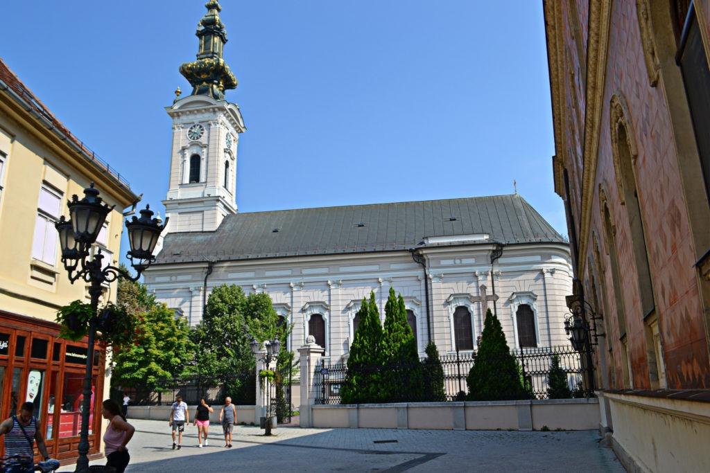 Δυο μέρες στο Νόβι Σαντ της Σερβίας. Η Ορθόδοξη εκκλησία του Αγίου Γεωργίου.
