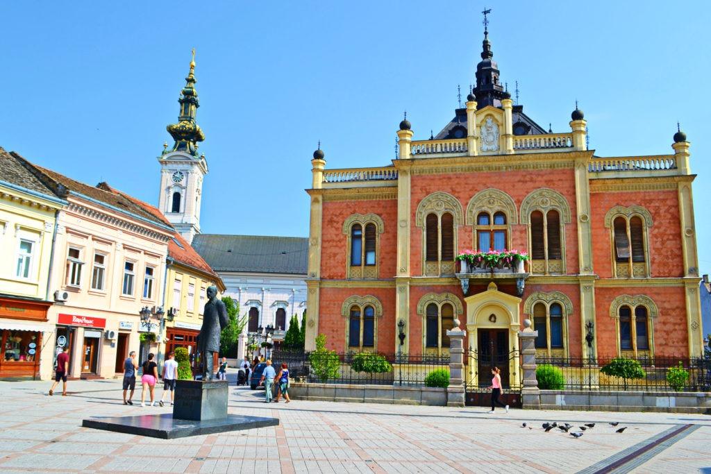 Δυο μέρες στο Νόβι Σαντ της Σερβίας. Το παλάτι Bishop's Palace.