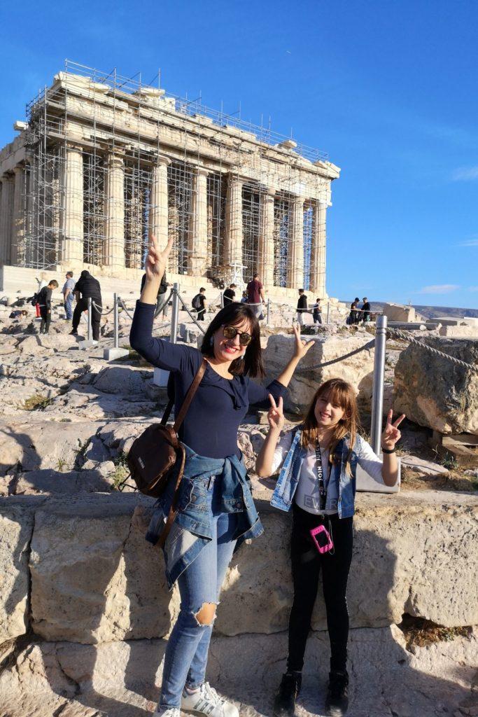 Τα παιδιά ταξιδεύουν στην Ελλάδα - Ακρόπολη