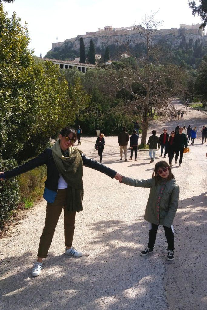 Τα παιδιά ταξιδεύουν στην Ελλάδα - Αρχαία Αγορά