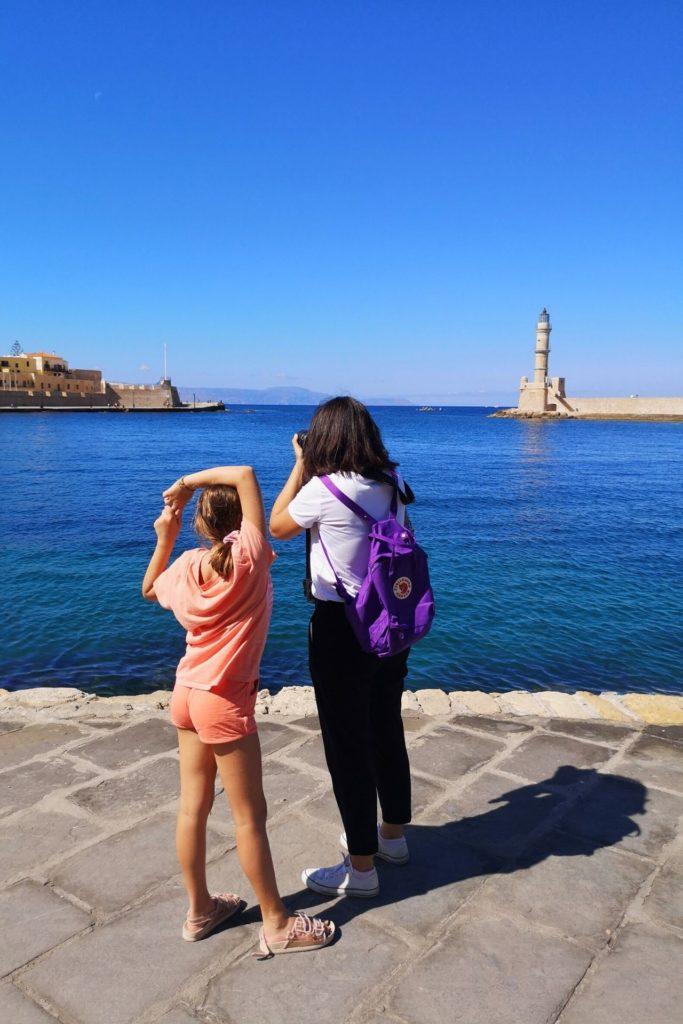 Τα παιδιά ταξιδεύουν στην Ελλάδα - Χανιά
