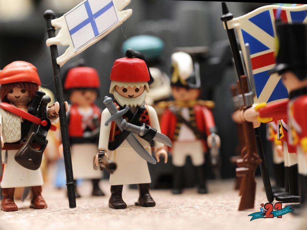 """Virtual tour στην έκθεση """"Το 21 αλλιώς: Η Ελληνική Επανάσταση με φιγούρες και διοράματα playmobil"""""""