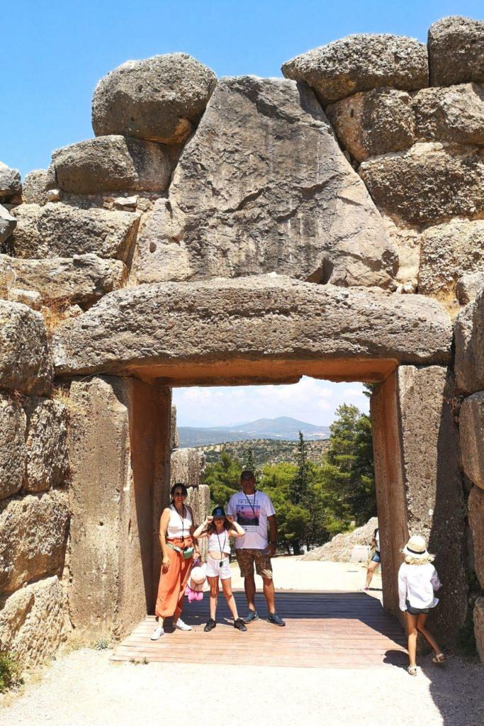 Τα παιδιά ταξιδεύουν στην Ελλάδα - Μυκήνες