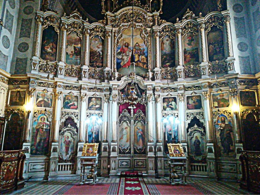 Δυο μέρες στο Νόβι Σαντ της Σερβίας. Τέμπλο Αγίου Γεωργίου.