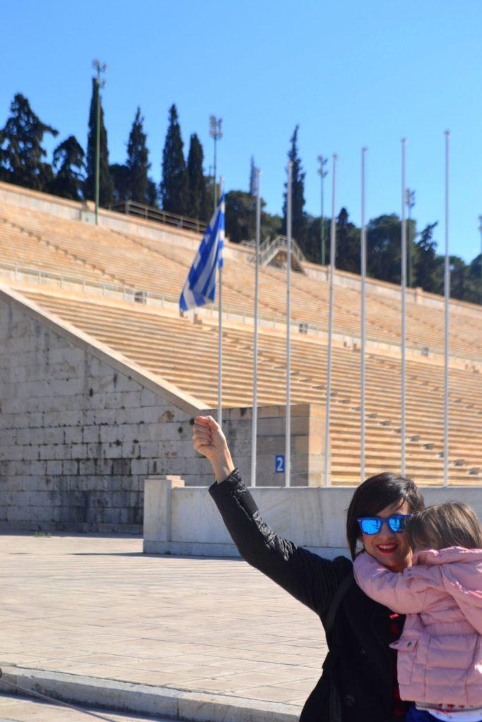 Τα παιδιά ταξιδεύουν στην Ελλάδα - Παναθηναϊκό Στάδιο