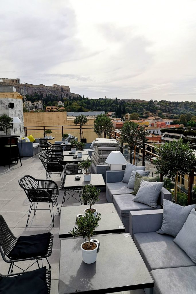 Royalty Hotel Athens, roof garden